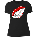 Delta Lips Ladies' Boyfriend T-Shirt