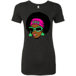 AKA AFRO Ladies' Triblend T-Shirt