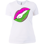 AKA Lips Boyfriend T-Shirt- SLIM FIT
