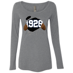 1920 Ripped Ladies' Triblend LS Scoop