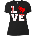 Love DST Ladies' Boyfriend T-Shirt