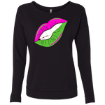 AKA Sexy Lips Scoop Sweatshirt
