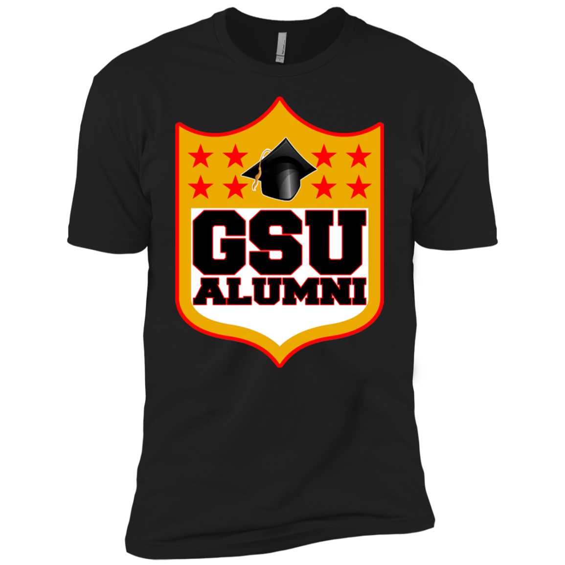 GSU Shield Premium Short Sleeve T-Shirt