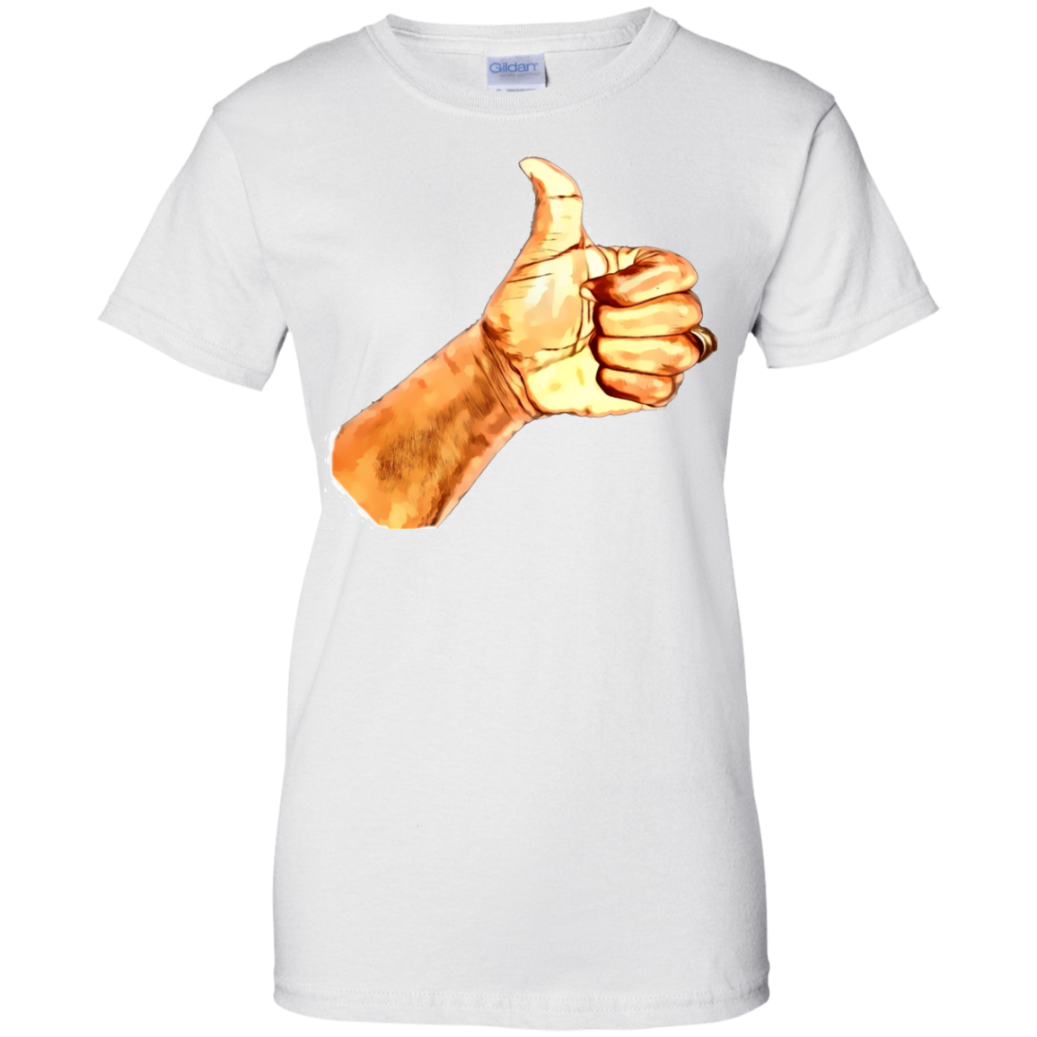 Thumb Up  Ladies' 100% Cotton T-Shirt