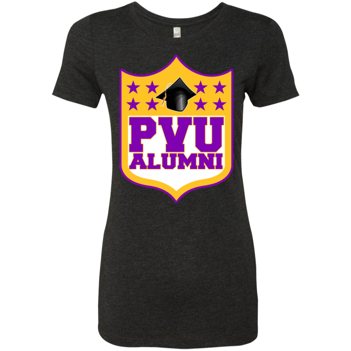 PVU Alumni Ladies' Triblend T-Shirt Very Slim Fit Petite