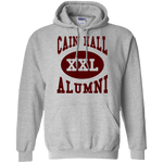 Cain Hall Maroon Letters