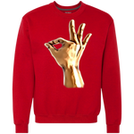 1911 Art Hands Heavyweight Crewneck Sweatshirt 9 oz.