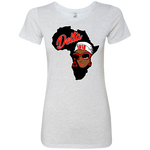 "Africa Deltal Ladies' Triblend T-Shirt Very ""Slim Fit- PETITE"""