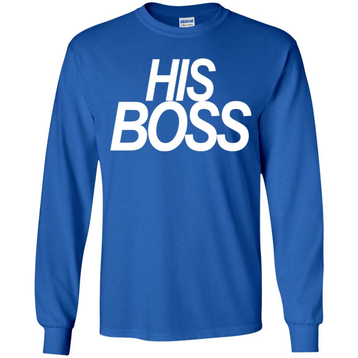His Boss Youth LS T-Shirt