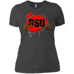 GSU Ripped Boyfriend T-Shirt