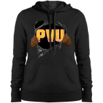 PVU Ripped Gold Pullover Hooded Sweatshirt