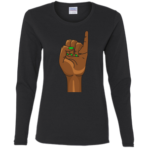 Pinky's Up Long Sleeve