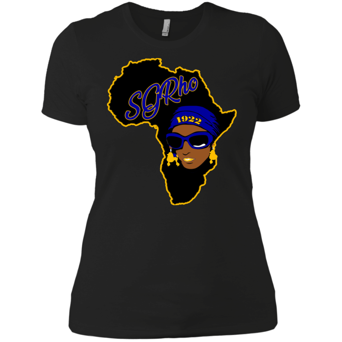 African Sgrho Ladies' Boyfriend T-Shirt