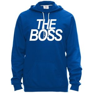 THE Boss Hooded Fleece