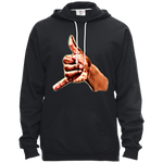 Art Hand Pullover Hooded Fleece