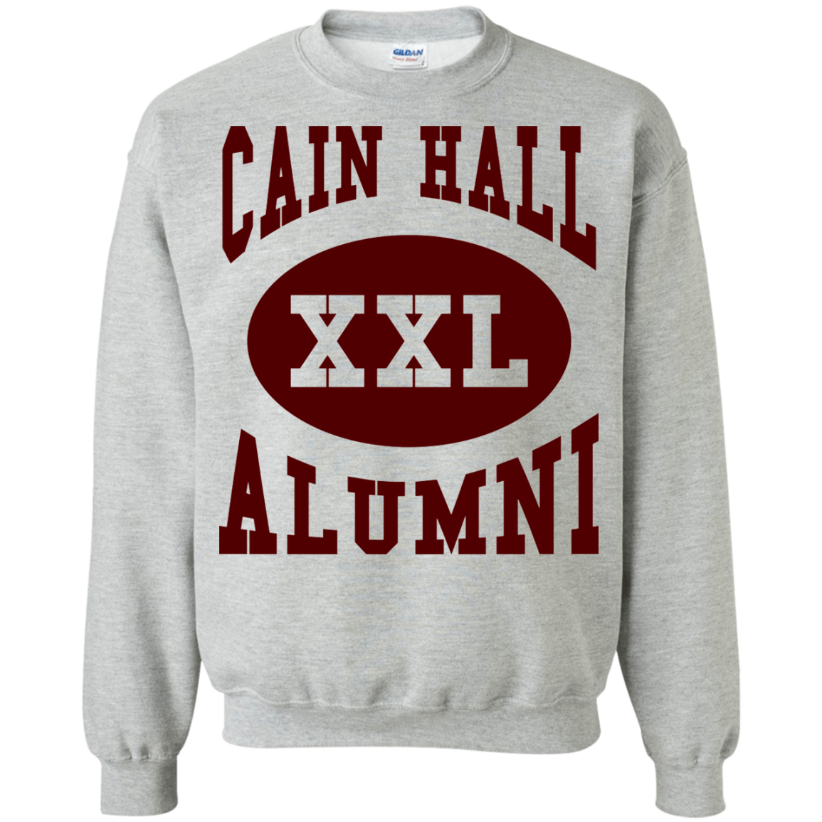 Cain Hall Maroon Letter