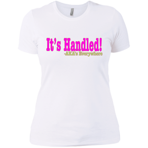 "It's Handle AKA ""Slim Fit"""