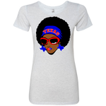 Texas Afro Slim Fit-Tri Blend Shirt