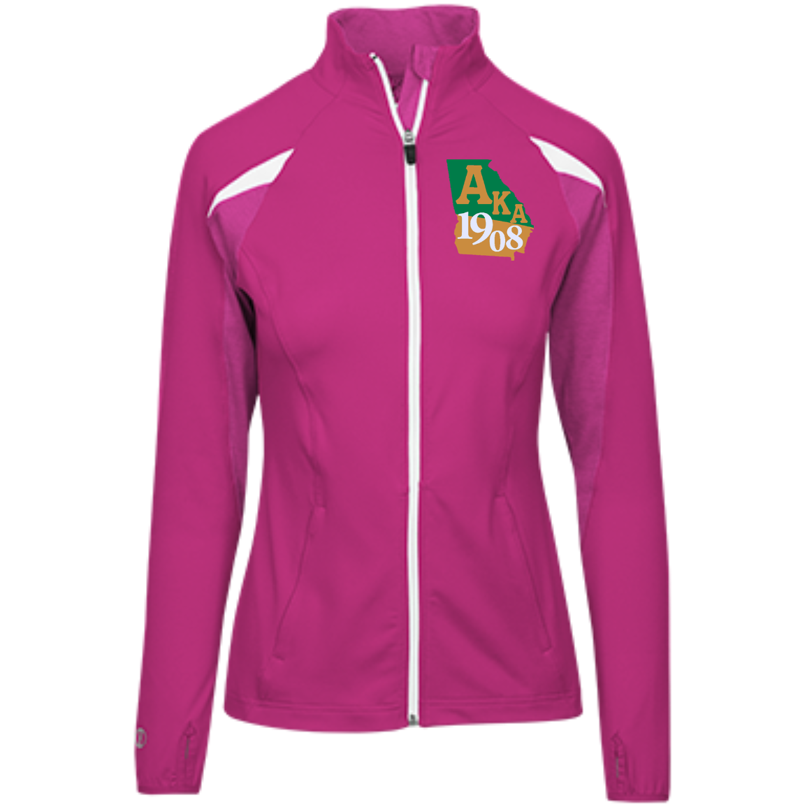 Girls Performance Warm-Up Jacket