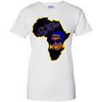 African Sgrho Ladies' 100% Cotton T-Shirt