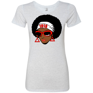 "Afro Delta ""FITTED"" Tri-Blend Soft Material"