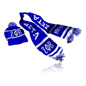 Greek Scarf and Winter Hat Combo.
