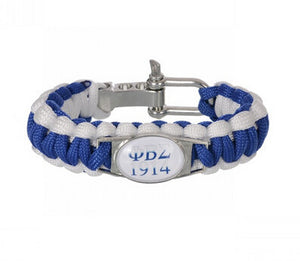 ZETA PHI BETA Custom Greek Letters Sorority Paracord Bracelets ZPB  Adjustable Survival Bracelet