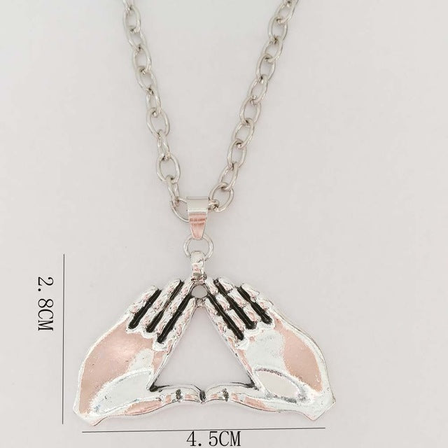 Delta Mids Up Necklace