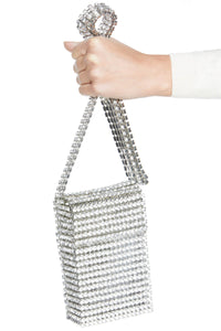 Crystal Flapper Mini Bag