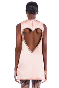 Open Heart Back Dress