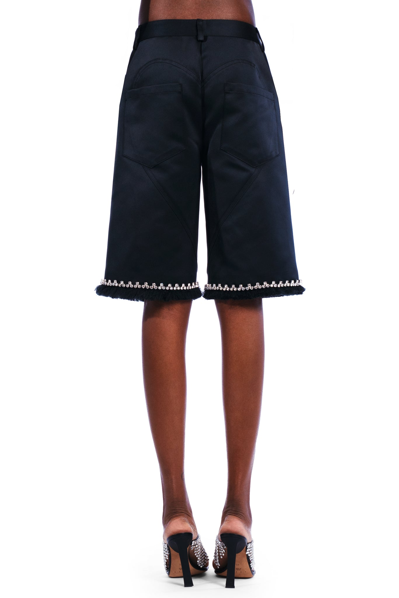 Raw Edge Five Pocket Shorts