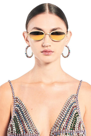 AREA x Linda Farrow Sunglasses