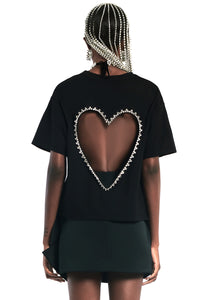 Open Heart Relaxed Tee