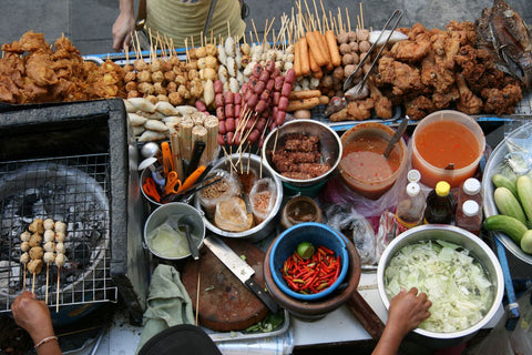 Nicolas Alexander believes that Bangkok has some of the best street food in the world