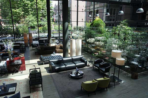 The Eco-Friendly Conservatorium Hotel in Amsterdam is a favourite of Nicolas Alexander