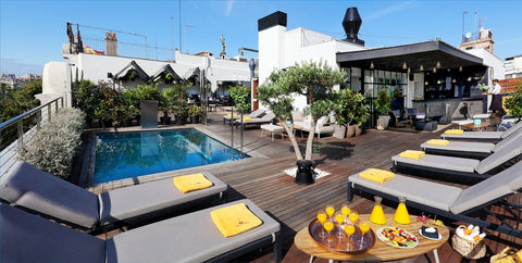 Grab your Nomad swim trunks and jump into the pool at El Sueno Rooftop