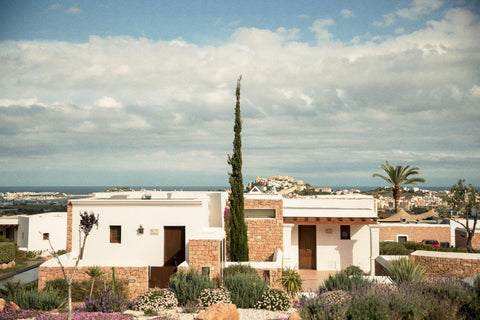 Enjoy impressive views of Dalt Vila during your stay at Casa Maca in Ibiza