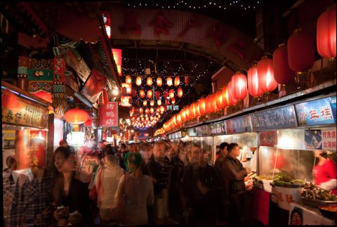 The Beijing street food scene is a sensory overload according to Nicolas Alexander