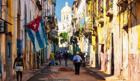 Colourful Havana Streets