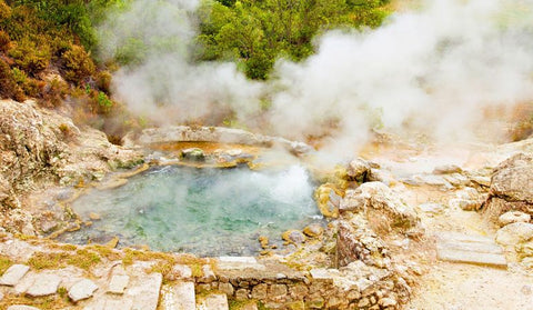 Hot Thermal Pools of Furnas