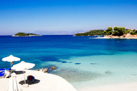 Don't forget to pack your Nicolas Alexander swimwear when you visit Ksamil