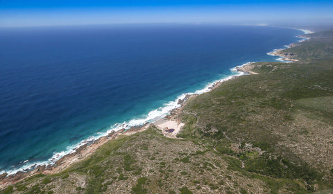 Lekkerwater's prime location along the South African coast means it is the perfect spot to watch the whales go by