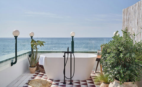 Pack your Nicolas Alexander swim shorts and book yourself an Easter Long weekend away at Little Beach House Barcelona