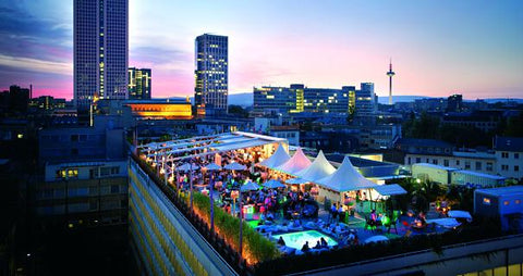 If pool party's are your thing, then Long Island Summer Lounge in Frankfurt is the place for you