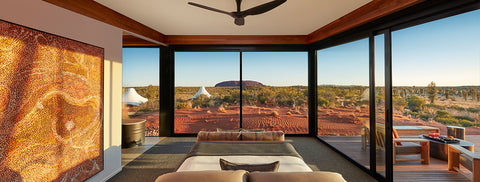 Immerse yourself in luxury at Longitude 131 located in Australia's spirited heartland