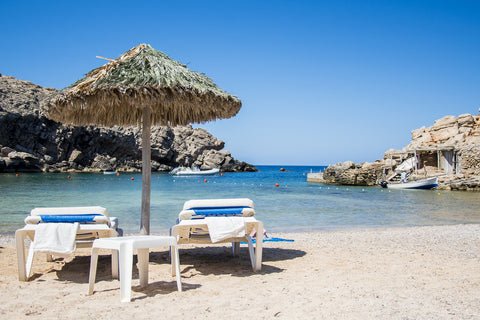 Throw on your Nicolas Alexander swim shorts and get down to Cala Carbo for a swim in turquoise waters