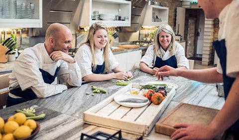 Get yourself booked into the amazing winter cooking class at Lakehouse Daylesford