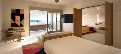 We love the sleek sen-like rooms at Nobu Hotel