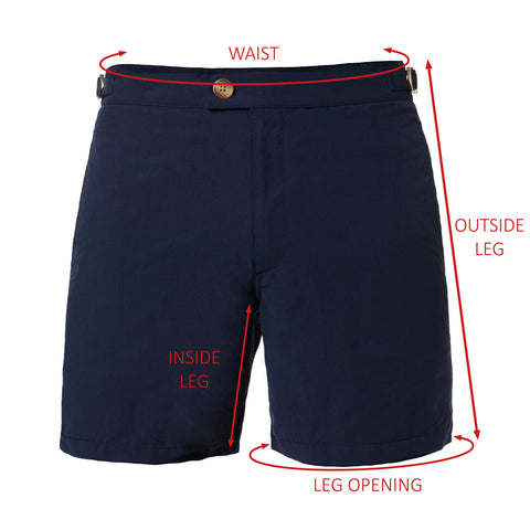 Nomad Swim Short Measurement Guide