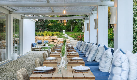 Outdoor Dining at Vila Monte